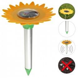 Repelente Ultrasónico a Energia Solar P/ Roeadores em Flor até 800m²
