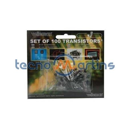 Kit transistor c/ 100 peças