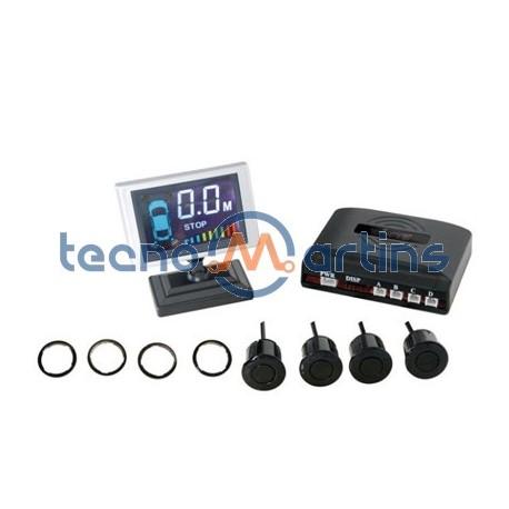 Kit de Estacionamento c/ 4 Sensores e Lcd