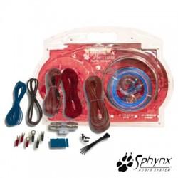 Kit de cabos completo p/ amplificador Sphynx