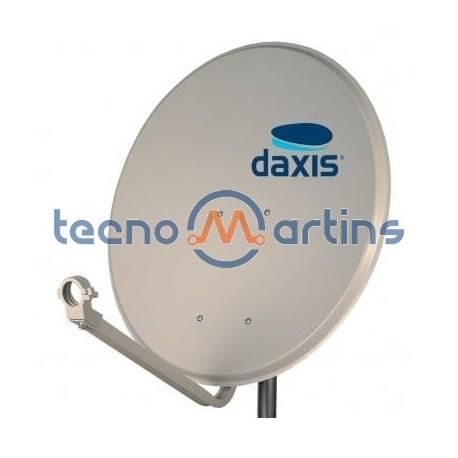 Antena Parabólica 60cm OFFSET - Ferro estrutura metálica - Daxis