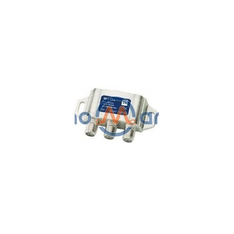 Misturador / Separador c/ filtro 4G SAT (950-2300 MHz)+TER (5-790 MHz) - Ekselans MI2TSL