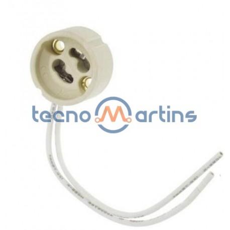 Suporte p/ lâmpada GU10 ceramico