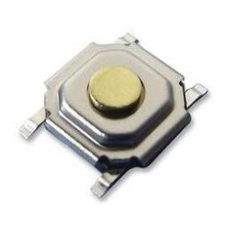 Switch SMD 5.2x5.2x1.5mm SPST-NO 12VDC 50mA