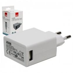 Alimentador USB 5v-2100mA compacto comutado
