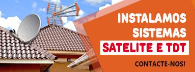 Instalamos sistema satelite e TDT! Contacte-nos
